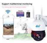 Solarkarte des 3G 4G drahtlose HD 1080P WiFi Audio-PTZ Kamera CCTV-Netz-32GB TF