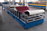 Qualitäts-Dach-und Wand-Farben-Stahlblech-Metallfliese-doppelte Schicht-Rolle, die Maschine bildet