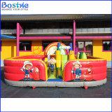 Parque de diversões inflável do campo de jogos da cidade do divertimento para crianças