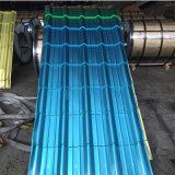 Placa de aço resistente galvanizada resistente à corrosão e do ácido e do alcalóide para a telhadura