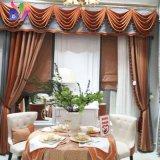 Европе в стиле ампир роскошь с вышитым шторы для гостиной Современное окно шторки