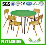 子供の木の家具はからかう円卓会議および椅子(SF-22C)を