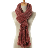 Braided van dame Fashion Acrylic Knitted de Sjaal van de Winter (YKY4642)