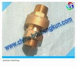 Forjamento e personalizado a usinagem CNC usinado da válvula de bronze e peças da bomba