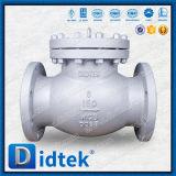Válvula de verificación completamente abierta del disco Wc3 de Didtek