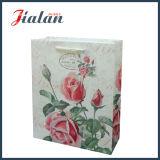 Ivory Papier-Funkeln-Blumen-kaufenträger-Geschenk-Papierbeutel anpassen