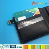 13.56MHz MIFARE Classic 1K RFID Cartão de negócios unidades flash USB