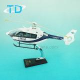 Helicóptero del modelo de la resina de la policía de Ec-135 Shangai