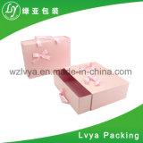 Papel de impressão embalado liso que dobra a caixa de presente de empacotamento dobrada Foldable do armazenamento do cartão
