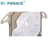 Sacchetto del tessuto filtrante della pressa dell'alloggiamento 25 micron tessuto filtrante dai 50 micron