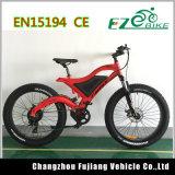 Bicicleta elétrica 48V 500W da montanha do pneu 26*4.0 gordo