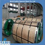 Bobina/strato/rullo dell'acciaio inossidabile di rivestimento delle 316 linee sottili con le pellicole del PVC