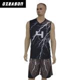 Fabricant de vêtements de sport réversible personnalisés SUBLIMATION Maillot de basket-ball (BK002)