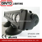 Única fileira fora da barra clara do diodo emissor de luz da estrada para o amortecedor do carro, ATV, SUV, máquina
