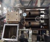 Dos de alta eficiencia el paso de la extrusora LDPE, HDPE film agrícola de la línea de peletización