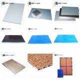 Silberner Goldspiegel-Stahlbienenwabe-Panel für Fassade-Decken-Dekoration