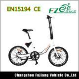 Tipo barato bici eléctrica del deporte de 20 pulgadas de la potencia verde
