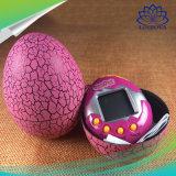 Las grietas de la máquina electrónica de mascotas virtuales crecen de patrón de bloqueo de huevo de juguetes para bebés los niños de la máquina de juegos de bolsillo huevo Crack máquina mascotas