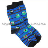 Helle Farbereizende Patten-Kind-Lieblingskleid-Socke