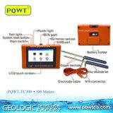 Detetor portátil da água subterrânea de escala longa de Pqwt 300m