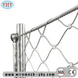 Edelstahl-Kabel-Netz-Röhrenrahmen