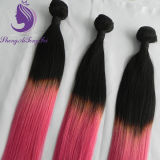 Shadows Two Tone Color Human Remy Hair Weaving