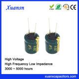 De audio Elektrolytische 10UF 200V Hoogspanning van de Condensator