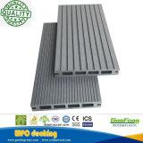 Plancher extérieur composé en plastique en bois creux de Decking de WPC