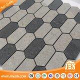 El procesamiento de color gris mosaico de azulejos de porcelana hexagonal para el comercio al por mayor (W955013)