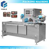 Máquina automática del lacre de la bandeja del alimento