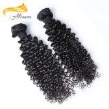 Естественные волосы малайзийца девственницы Dyeable человеческих волос