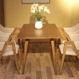 Tabella pranzante di legno del ristorante della mobilia moderna della sala da pranzo (D12)