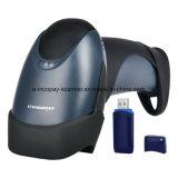 scanner sans fil de code barres du CCD 1d pour le système de Surpermarket/Warehouse/POS avec Ce/FCC/RoHS (Icp-Em6)