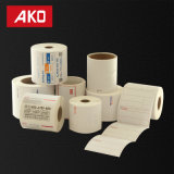 El papel revestido termal de la impresión fácil/cubrió la etiqueta engomada auta-adhesivo del trazador de líneas del papel cristal de la capa del arte Paper/BOPP/Pet