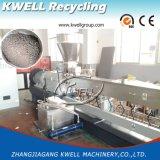 Máquina de granulagem da estaca quente do grânulo de HDPE/PP WPC, granulador de madeira da pelota
