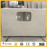 Het kunstmatige Wit van het Kwarts/de Steen van de Room voor Countertops van de Keuken