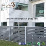 Tarjeta de WPC y cerca compuesta de madera material del jardín del marco del aluminio