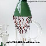 Glaswasser-Pfeife-Becher-Glaswasser-Rohre