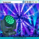 19PCS 15W grosser beweglicher Kopf des Bienen-Augen-4in1 RGBW LED