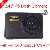 "최신 판매 2.45 "" Ntk96220를 가진 IPS HD1080p 차 사진기; G 센서; WDR; 야간 시계 기능 DVR-2450"