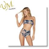Летом можно настроить цифровую печать Boob трубы верхней линии бикини купальный костюм,