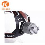 Alto faro di sport esterni di Zoomable LED T6 di lumen del faro esterno