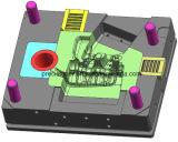 Moldes de fundición de alta presión para el cárter con 2 diapositivas