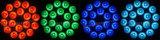 Heet verkoop 18PCS leiden 5 in 1 IP65 Openlucht LEIDEN RGBWA Licht van het PARI