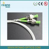 divisori ottici del PLC degli accoppiatori dei divisori della fibra 2X2, fibra rivestita resa resistente di 0.9mm