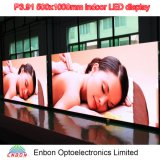 High Definition P3.91 500X1000mm Die Cast Aluminum Indoor LED Display