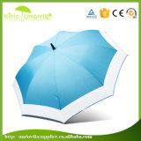 Соедините стеклоткань двойного цвета ткани белую для зонтика гольфа 54in