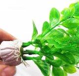 Productos acuario de peces artificiales de las plantas de cubeta de plástico