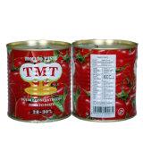 Halal Certificates a pasta de tomate da fábrica da pasta de tomate