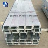 Corte personalizado canal perforado de acero galvanizado u